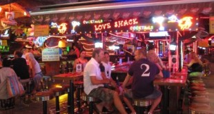 Bangla Road Patong bei Nacht
