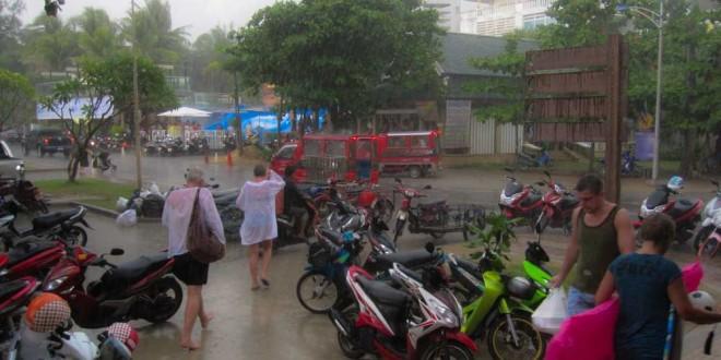 Regenzeit Unwetter