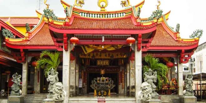 Chinesischer Tempel Phuket